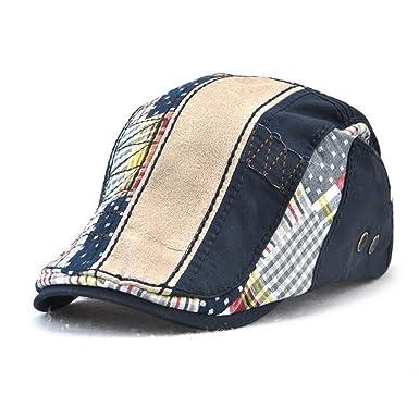 5677142bd18ce Impression 1 PCS Boinas Ocio Retro Hat Gorra de Golf Sombrero de Sol  Deporte al Aire Libre Primavera Verano para Unisex Hombre Mujer (A)   Amazon.es  Ropa y ...