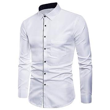 Hombre camisa manga larga Otoño,Sonnena ❤ Trajes Casuals formales de manga larga para