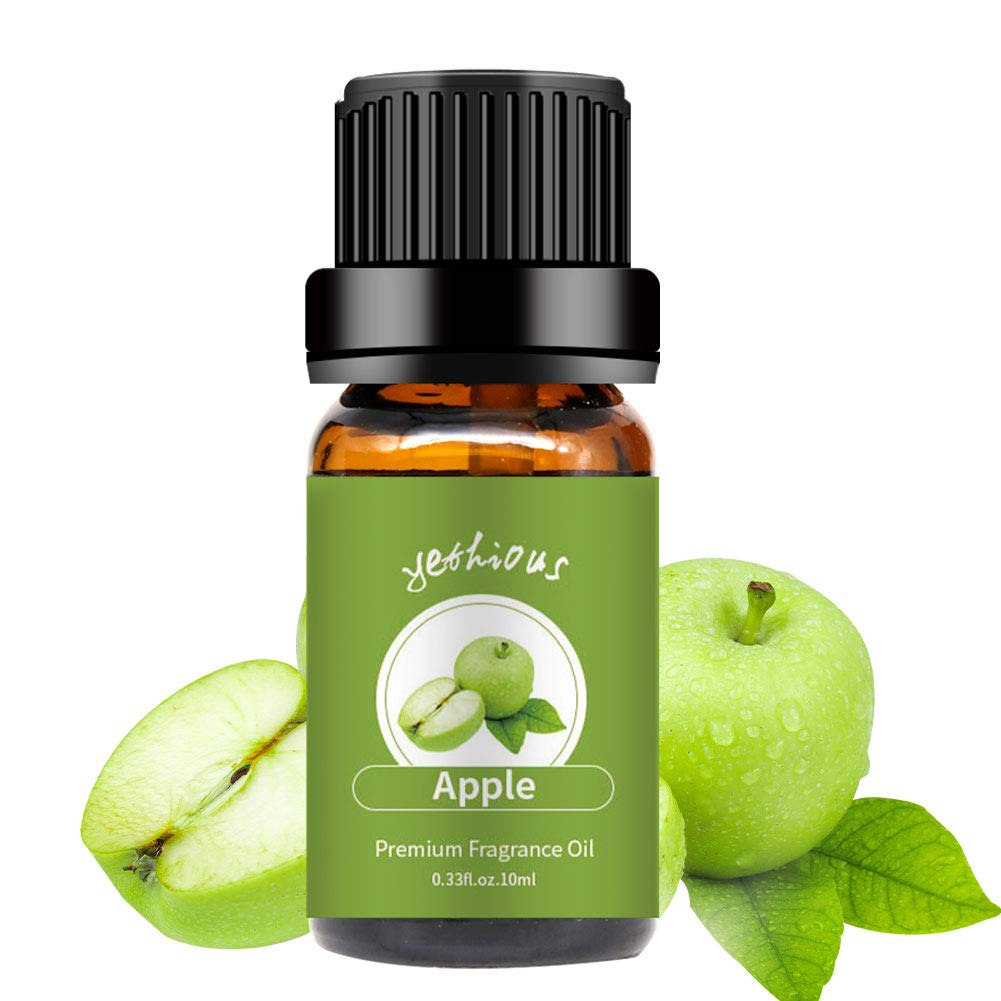 yethious Apple Essential Oils Organic Pure Essential Oil Therapeutic Grade Aromatherapy Gift Oil 10ml