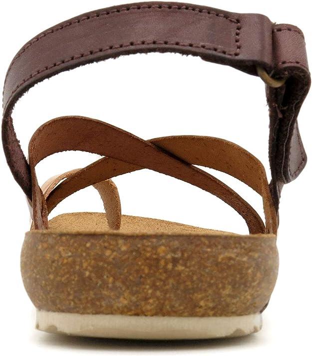 Morxiva Made in Spain Sandales pour Femmes en Cuir avec