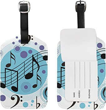 2 Pack Luggage Tags Colorful Polka Dot Travel Tags For Travel Bag Suitcase Accessories