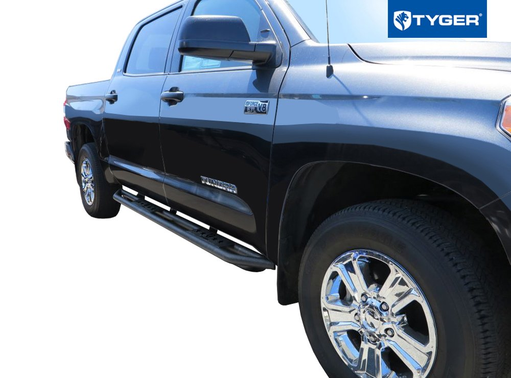 Grille Guard Bull Bar Tyger Auto Star Armor /& Bumper Guard Combo for 2007-2019 Toyota Tundra CrewMax Cab Running Boards Nerf Bars