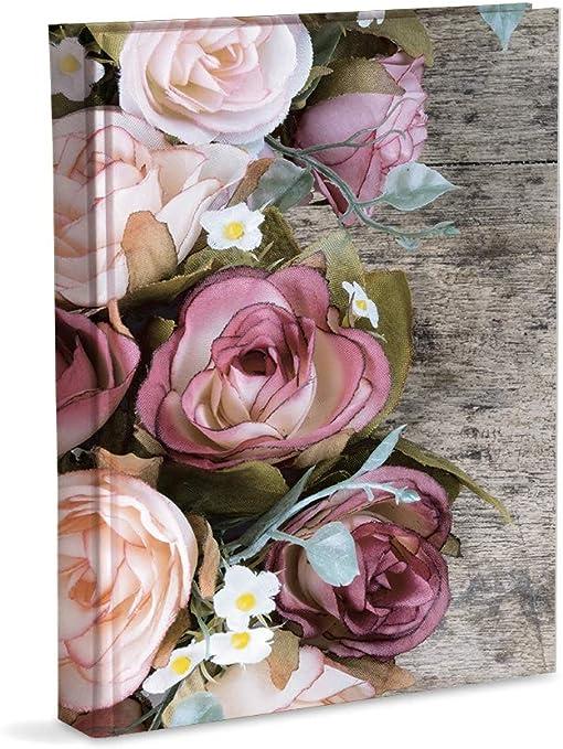 13x19 Mareli Album Fotografico con taschette 21x28cn Bianco 200 Foto 13x18
