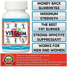 VITSLIM (VITAMIN+WEIGHT LOSS) 36 Slimming Capsules . 60 Days Money Back Guarantee! Really Works. FAT BURNER + APPETITE SUPPRESSANT