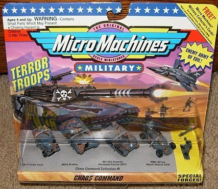 Micro Machines Military Chaos Command #5 Collection (Fast Attack Vehicle)