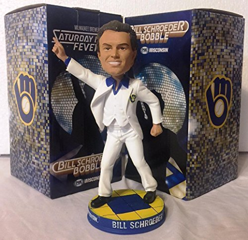 Bill Schroeder Milwaukee Brewers Bobblehead MLB