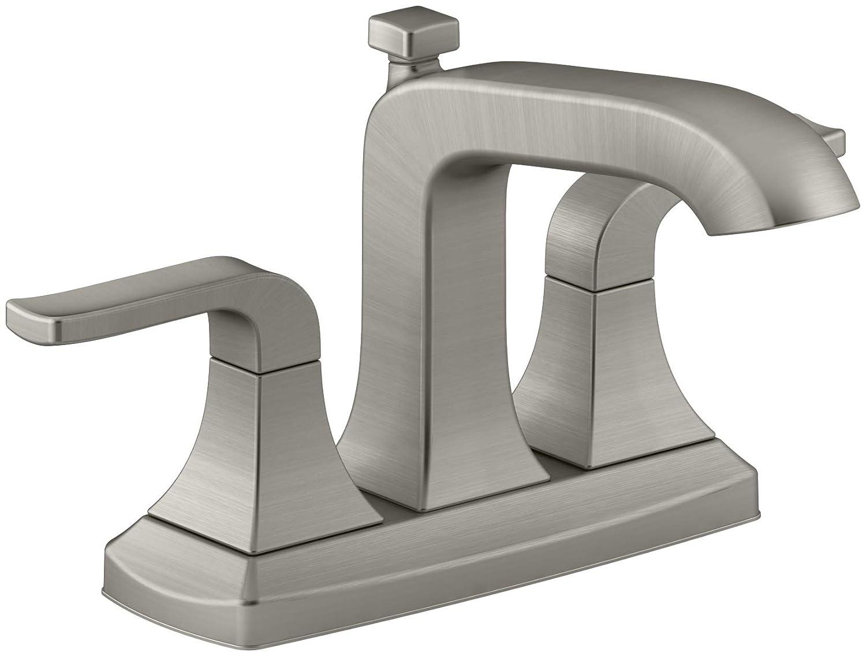Widespread 2-Handle Bathroom Lavatory Faucet Chrome KOHLER Rubicon 8 in