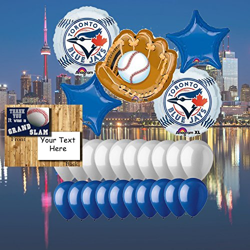 - Anagram Toronto Blue Jays 25 Piece Balloon Set