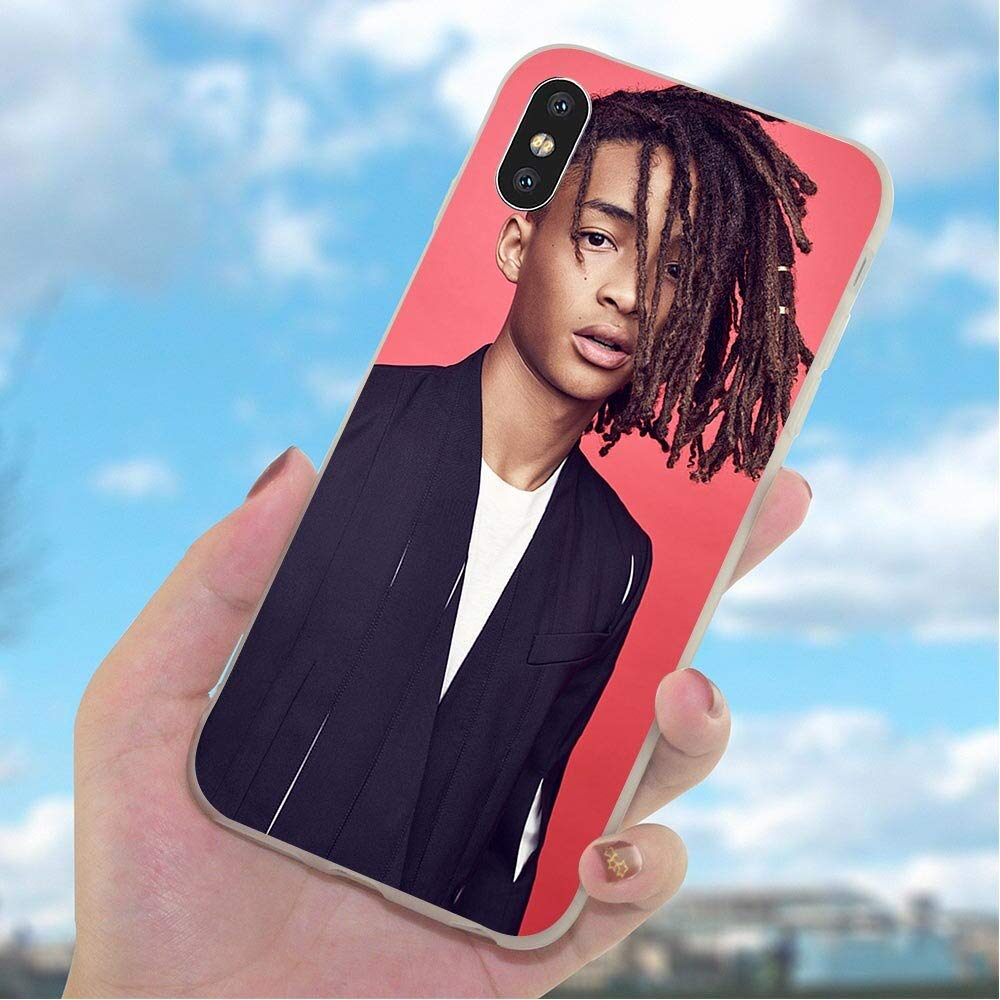 Hoodie Case Inspired by jaden smith Phone Case Compatible With Iphone 7 XR 6s Plus 6 X 8 9 Cases XS Max Clear Iphones Cases High Quality TPU Soft Rubber 33045864820 Coloring Eco-Friendly
