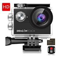 Dragon Touch 4K EIS Action Camera 16MP Vision 4 Support SY0092 Deals