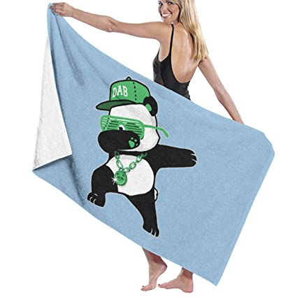 Amazon.com: Lichang Dabbing Panda Necklace Microfiber Bath ...