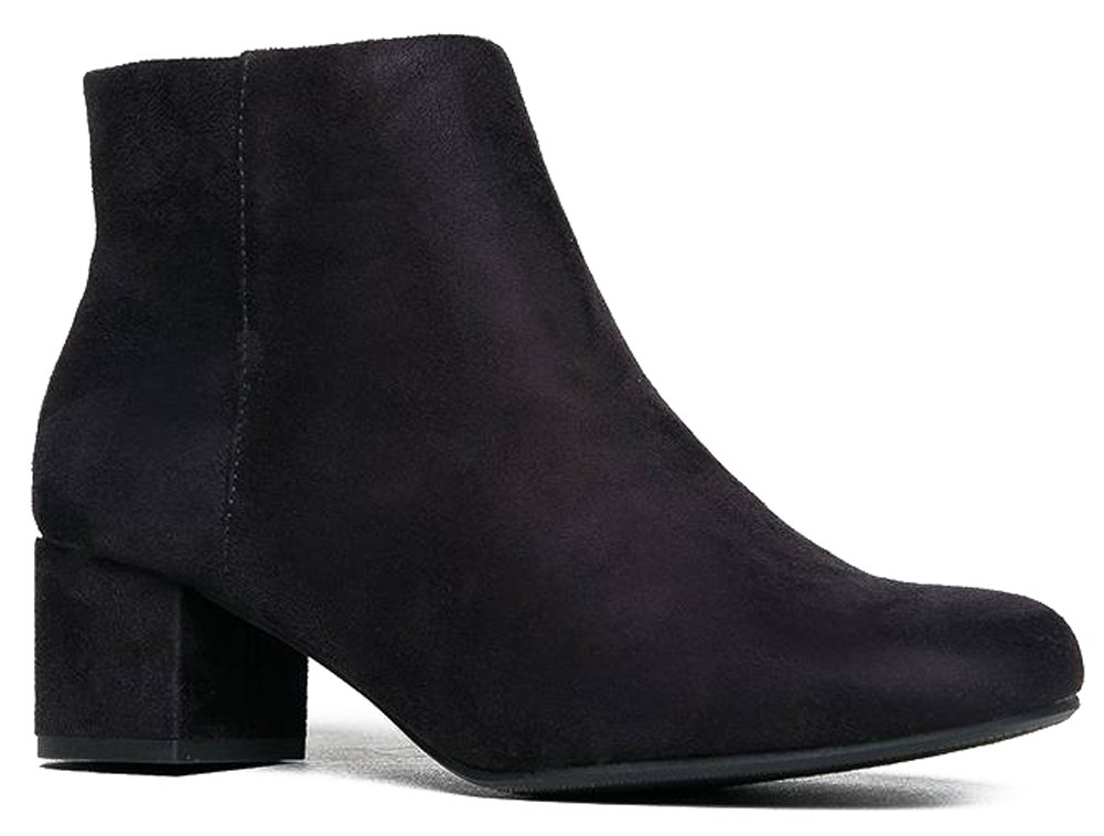 Jody Ankle Boot, Black Suede, 7 B(M) US