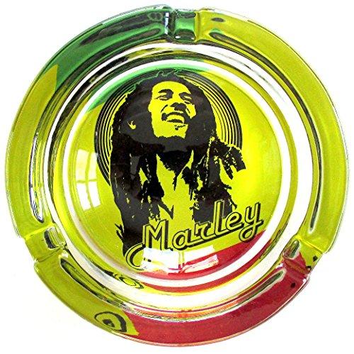Bob-Marley-Marijuana-Weed-Round-Glass-Ashtray