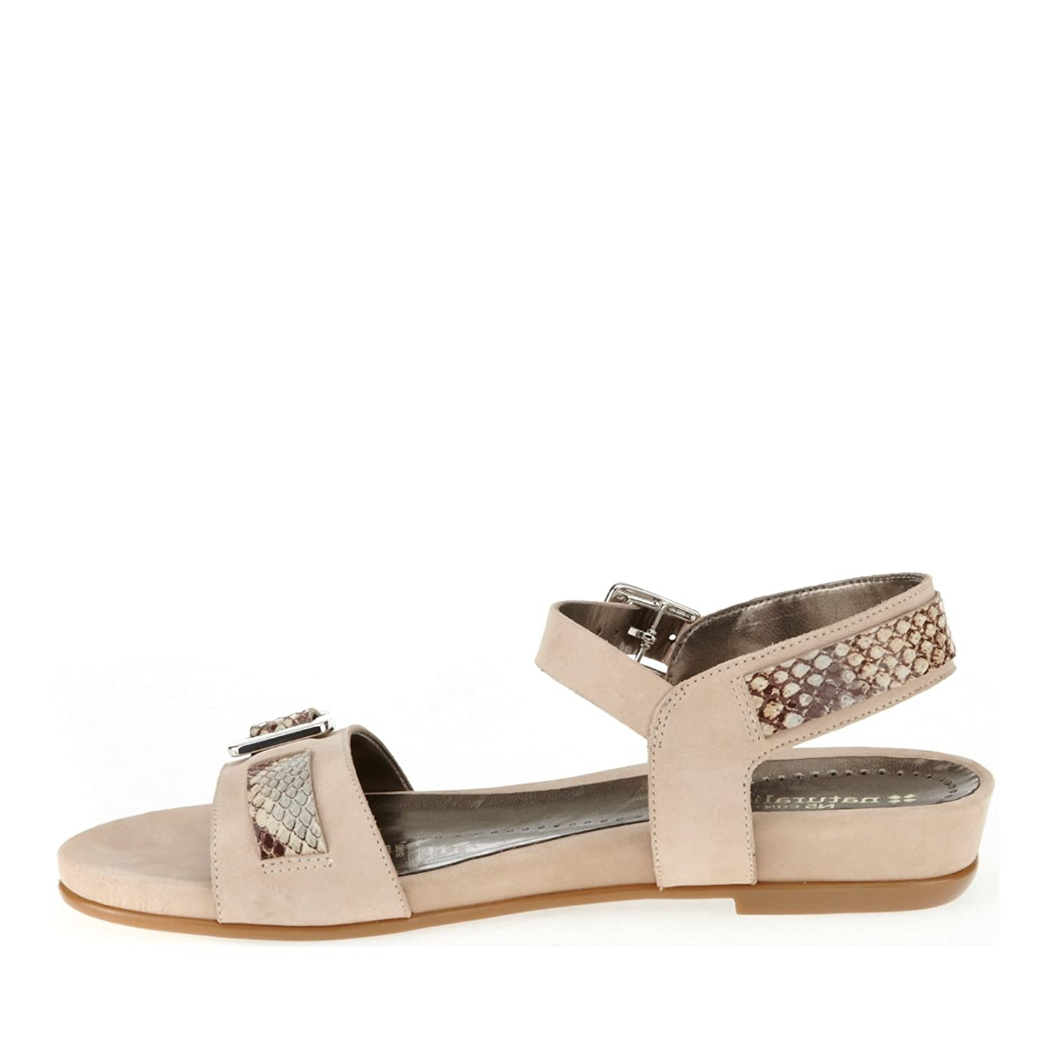 Naturalizer Contour Cairo Strappy Sandals Tender Taupe Vk Foaming Dew 75 W C Shoes