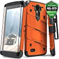 LG Stylo 3 Case, Zizo [Bolt Series] with FREE [LG Stylo 3 Screen Protector] Kickstand [Military Grade Drop Tested] Holster Belt Clip- LG Stylo 3 Plus by Zizo