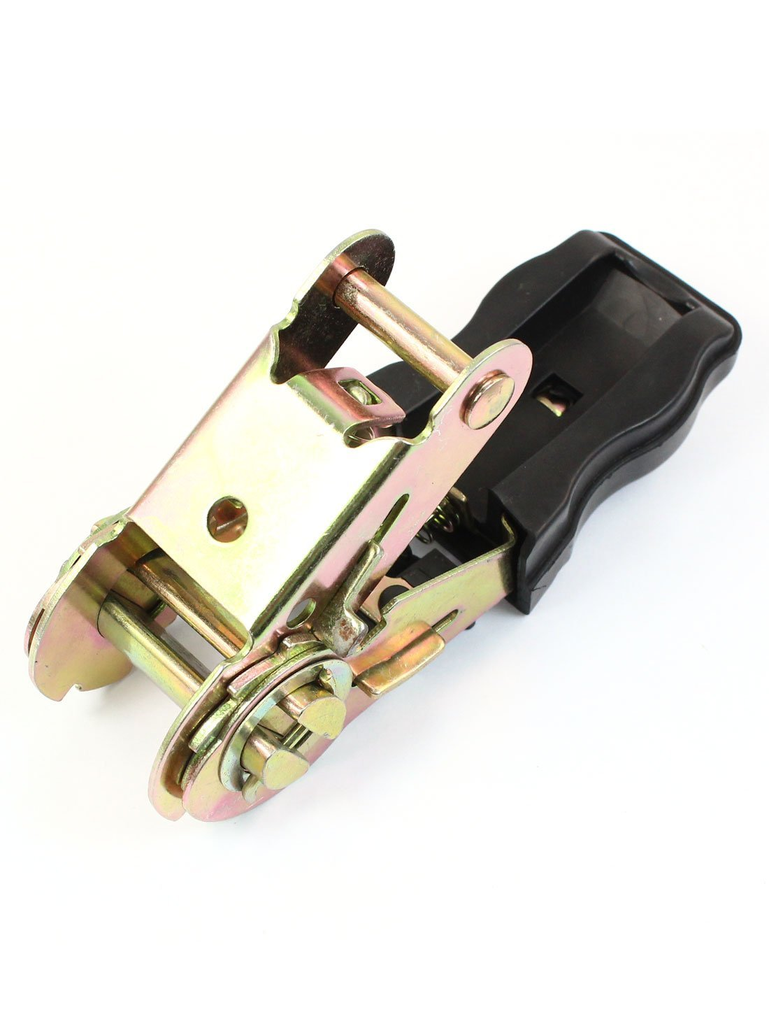 2pcs plastica coperto Metallo traino Ratchet fibbia per 1 tessitura Strap
