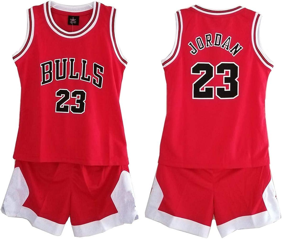 Niños Chicos Niña Hombre Adulto NBA Michael Jordan # 23 Chicago ...