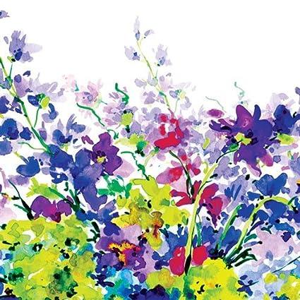 PPD Blossom Servietten Tischservietten 20 Stück Tissue Bunt 12.5 cm