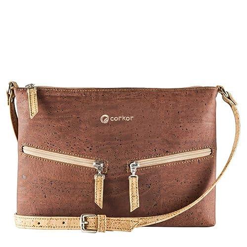 Vegan sustainable handbag made of cork