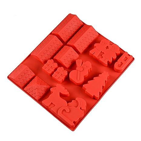 FantasyDay® Premium Antiadherente Moldes para Tartas, Moldes de Silicona para Caramelos, Chocolate,