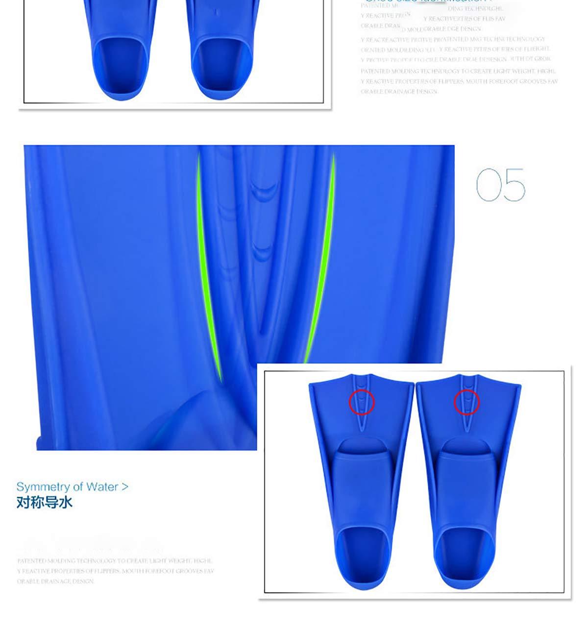 JOSE9A/® Swim Fins Learning Swimming Silica Gel Short Training Adults Womens//Mens//Kids Flippers