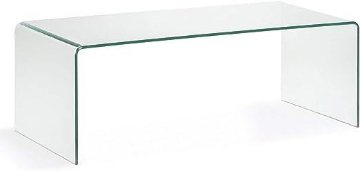 Kave Home - Mesa de Centro Burano de Cristal Templado Transparente ...