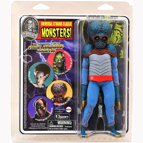 DIAMOND SELECT TOYS Universal Monsters Retro Cloth Series 4 Metaluna Mutant Action Figure by Diamond Select - Universal Monsters Retro Cloth