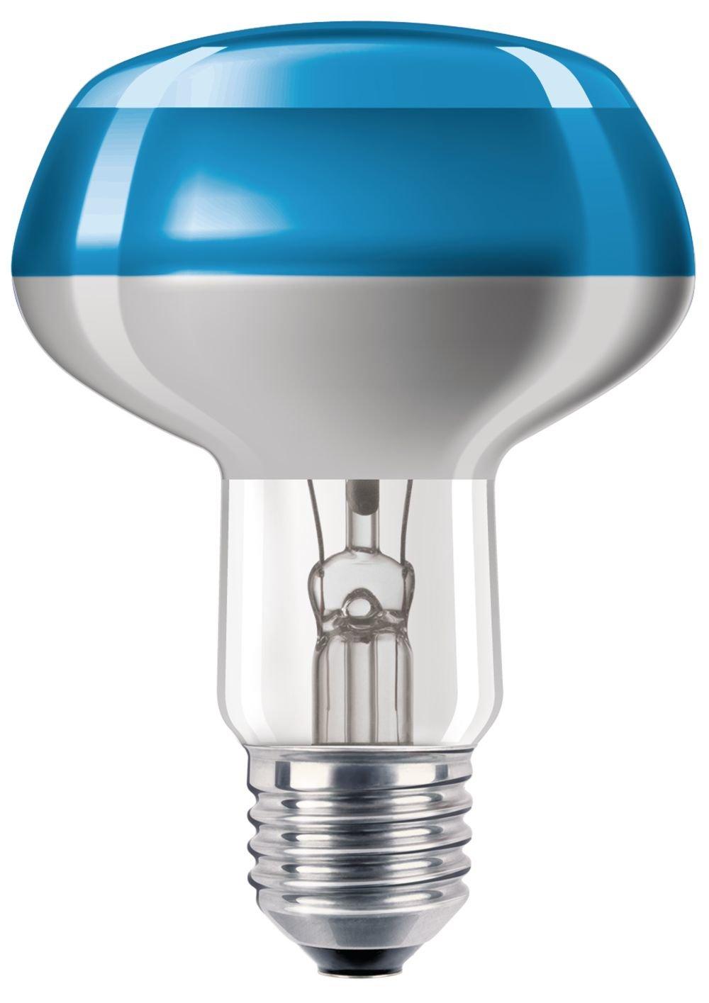 Philips NR80 Reflektorlampe 60 Watt E27 blau 60W 8711500066527