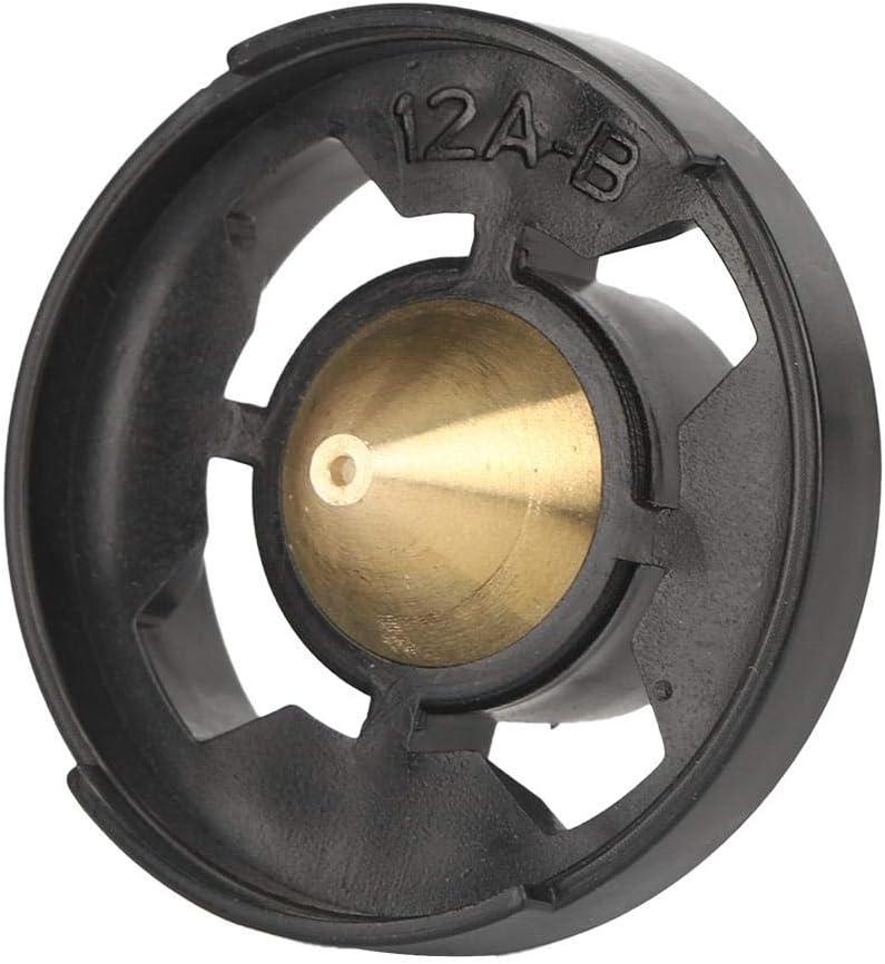 2,5 mm per spruzzatore HVLP//pistola a spruzzo elettrica 1.8mm 1,8 mm Ugello per pistola a spruzzo in ottone kit di ricambio in ottone di alta qualit/à 0,5 mm 1,0 mm 1,3 mm