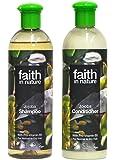 Faith In Nature Jojoba Shampoo 400ml & Conditioner 400ml Duo