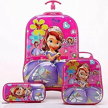 f581a575c06 Kids Backpack Rucksack Cabin Bag for Children   Toddler - Disney Princess  Girls Lunch Box Cooler Bag Junior Backpacks for School   Nursery   Travel   ...