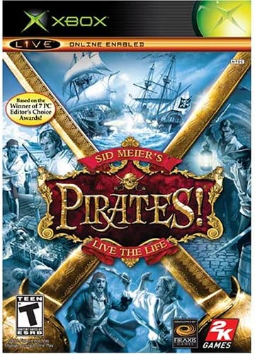 Amazon com: Sid Meier's Pirates!: Artist Not Provided: Video
