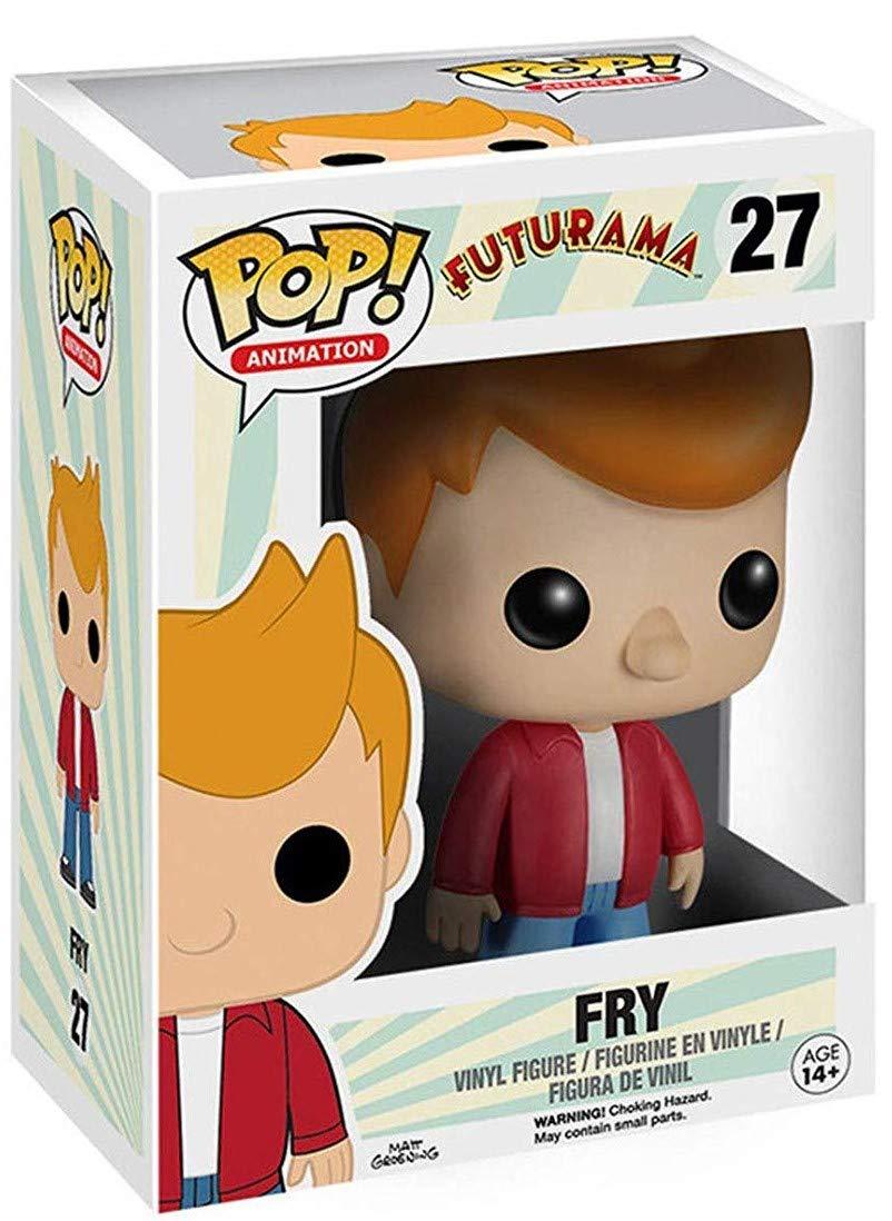 Funko Pop Fry Vinyl Figure Animation: Futurama Bundled with Pop BOX PROTECTOR CASE