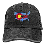KIOJIANM USA Wrestling Unisex Baseball Caps Cool Snapback Hats Crazy Trucker Hats Fashion Denim Cap