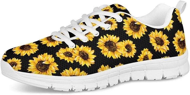 Hugs Idea Zapatillas de Senderismo ultraligeras para Mujer, Suaves, cómodas, duraderas, Color Negro, Talla 43 EU: Amazon.es: Zapatos y complementos