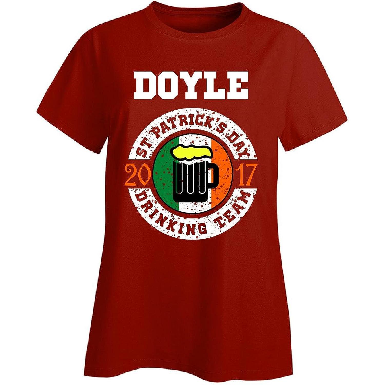 St Patricks Day Doyle 2017 Drinking Team Irish - Ladies T-shirt