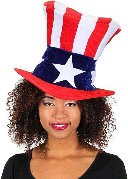 Patriot Man Kit Mens Adult Uncle Sam American USA Halloween Costume