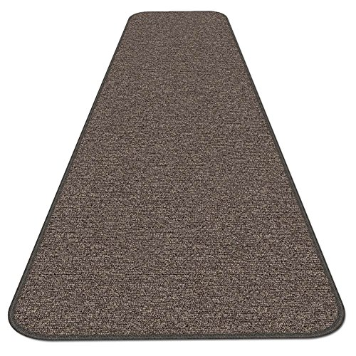 House, Home and More Skid-resistant Carpet Runner - Pebble Gray - 12 Ft. X 36 In. - Many Other Sizes to Choose From