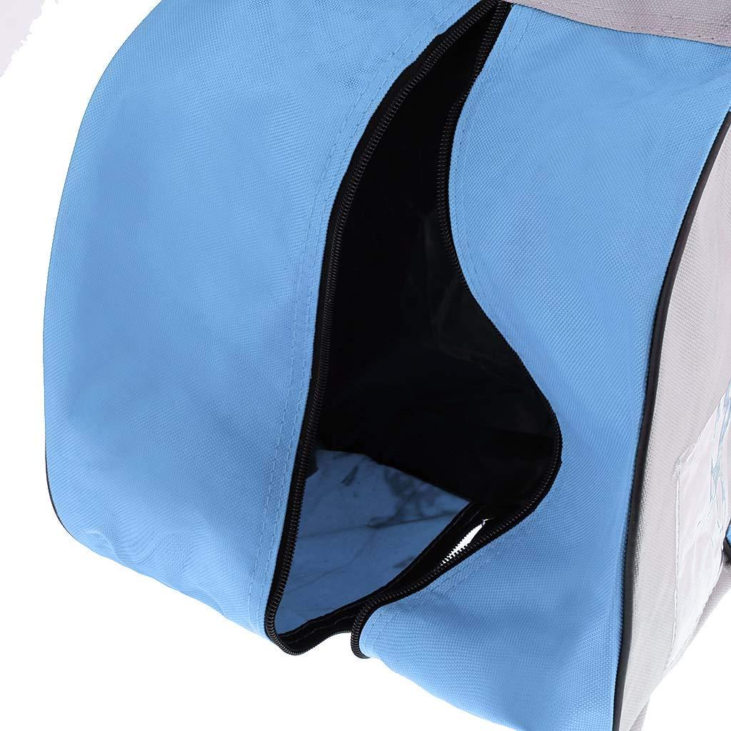 Azul P Prettyia Bolsa de Patinaje Sobre Hielo Bolsa de Asas Caja de Asas Impermeable Engrosado Duro