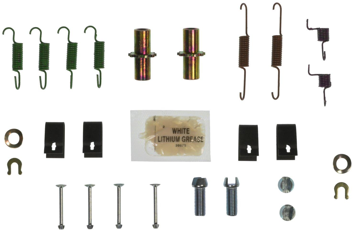 Rear Wagner H17542 Parking Brake Hardware Kit