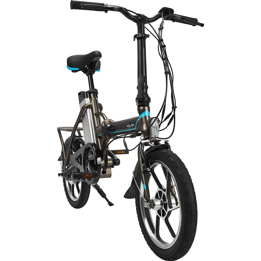 Bicicleta eléctrica E-Bike City-Bike Polar PBK 1601: Amazon.es: Deportes y aire libre