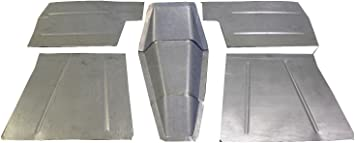 Amazon Com Motor City Sheet Metal Compatible With 1937 1946 Chevrolet Chevy Pickup Truck 8pc Floor Pans Toe Boards Trans Cover Automotive