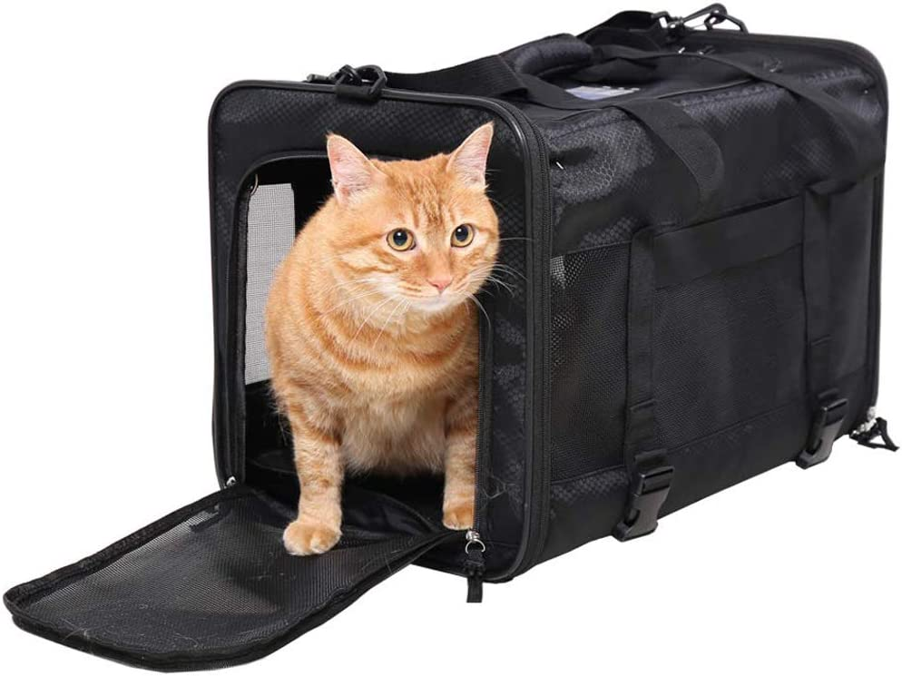 Top 10 Best Cat Carriers For Nervous Cats [Updated November 2020] 10