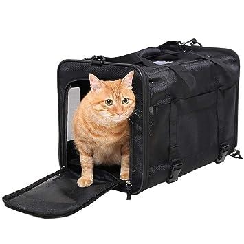 Amazon.com: Bolsa de transporte para mascotas grande de ...