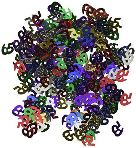 Fanci-Fetti 65 Silhouettes (multi-color) Party Accessory  (1 count) (.5 - Fanci Multi Color Fetti