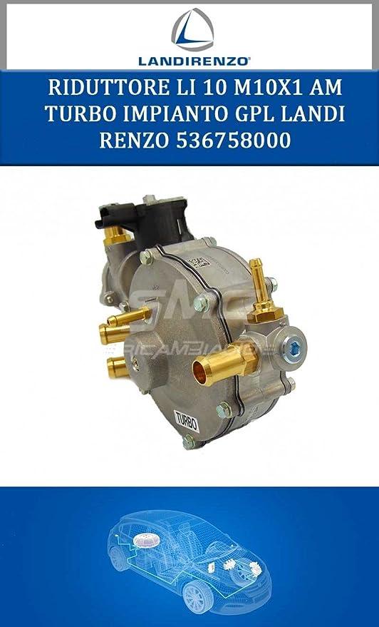 Reductor GPL Landi Renzo 536758000 Gas Turbo para coche a inyección electrónica: Amazon.es: Coche y moto