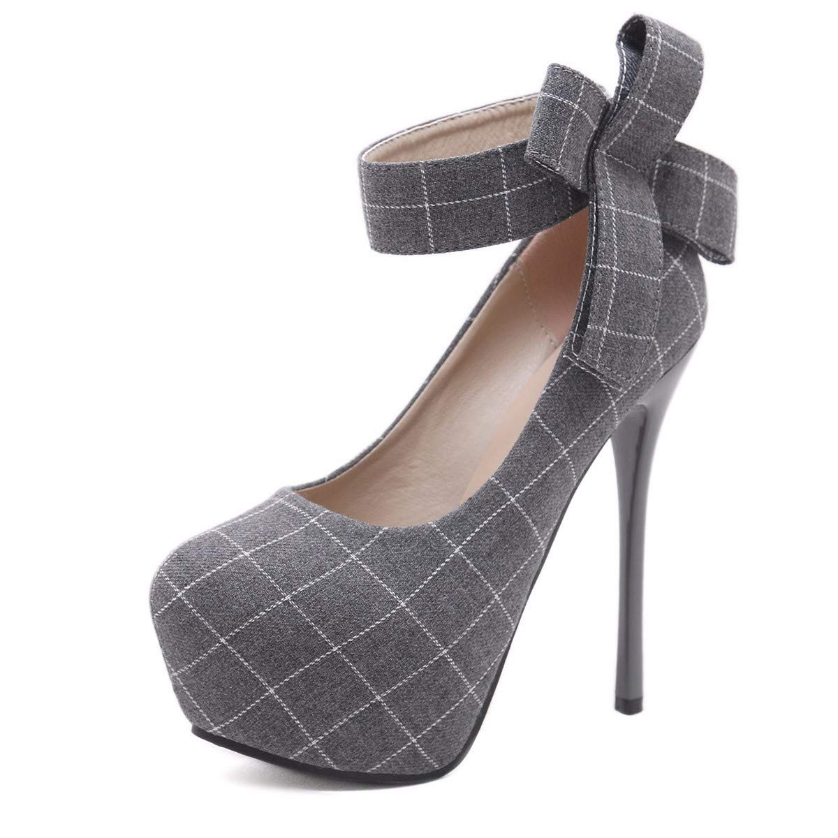 KPHY Damenschuhe/Nachtclubs Wasserdicht Tabellen Meine Schuhe 14 cm Super - High Heels Flach Einzelne Schuhe Damenschuhe.