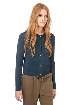 Conception innovante 22060 f803d Monoprix Women - Viscose, polyamide Cardigan With Pockets ...