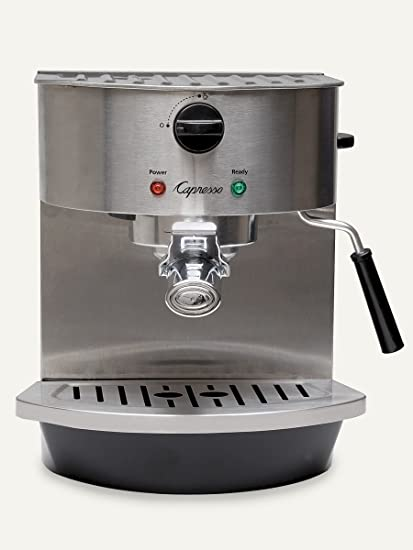 Amazon Capresso 11905 Stainless Steel Pump Espresso And