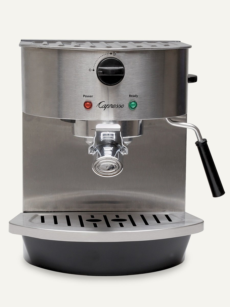 Capresso 119.05 Stainless Steel Pump Espresso and Cappuccino Machine by Capresso
